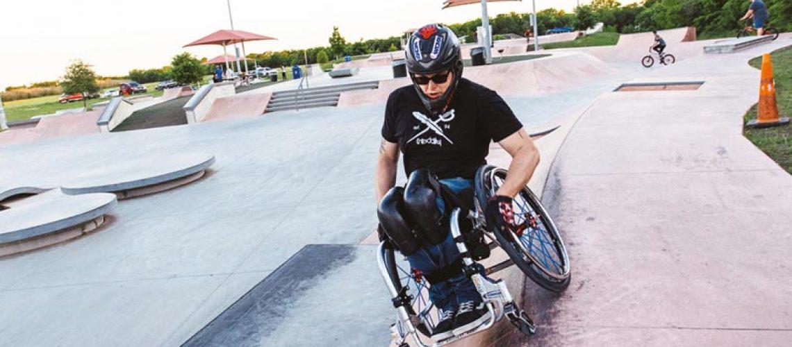 Rollstuhlskaten